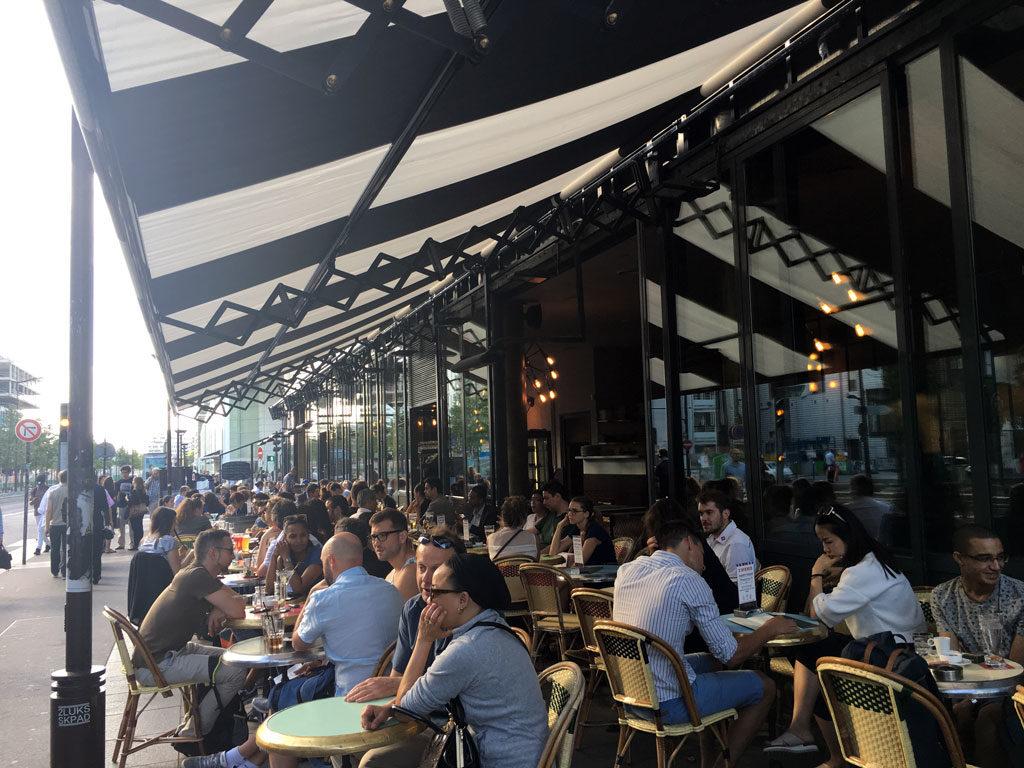 L Avenue Brasserie Pizza Bar Paris 13eme